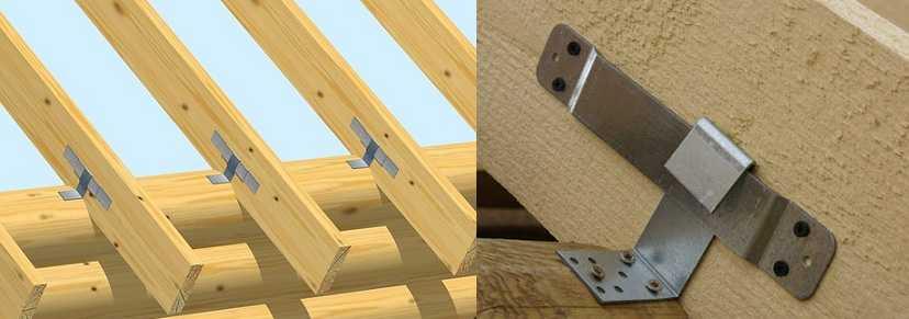 Стропила для двухскатной крыши своими руками + установка, крепление, шаг монтажа