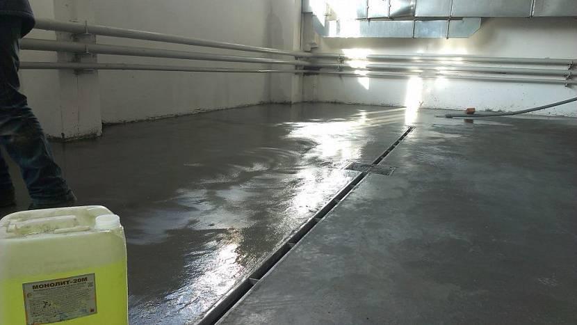 Чем покрыть пол в гараже - выбор материала и способ укладки!