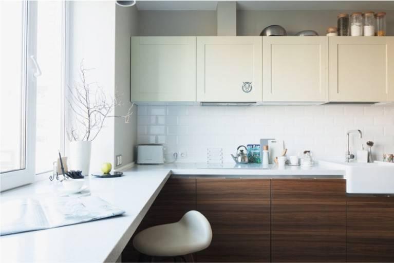 Белые кухни: 120 фото, самые красивые идеи дизайна с черным, деревом, другими цветами, матовые и глянцевые