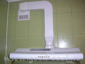 Вытяжка на кухне: пошаговая инструкция по установке