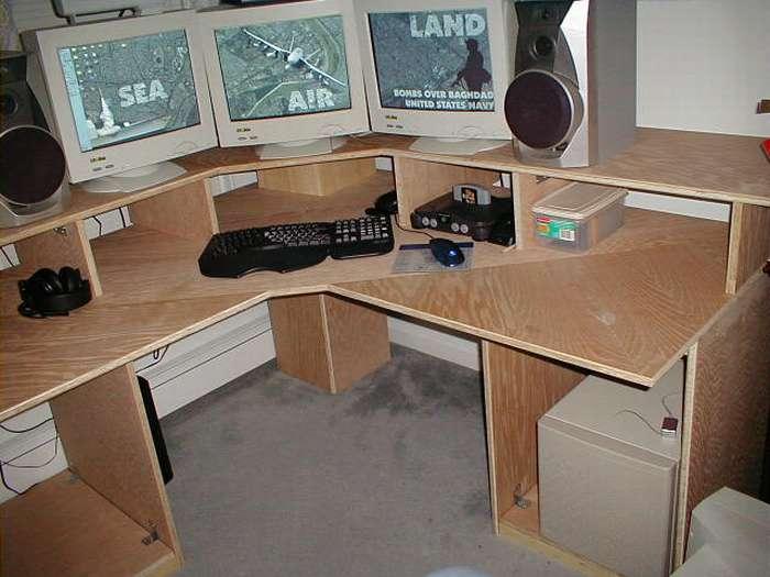 Инструкция, как сделать компьютерный стол своими руками - 125 фото как построить и спроектировать рабочее место