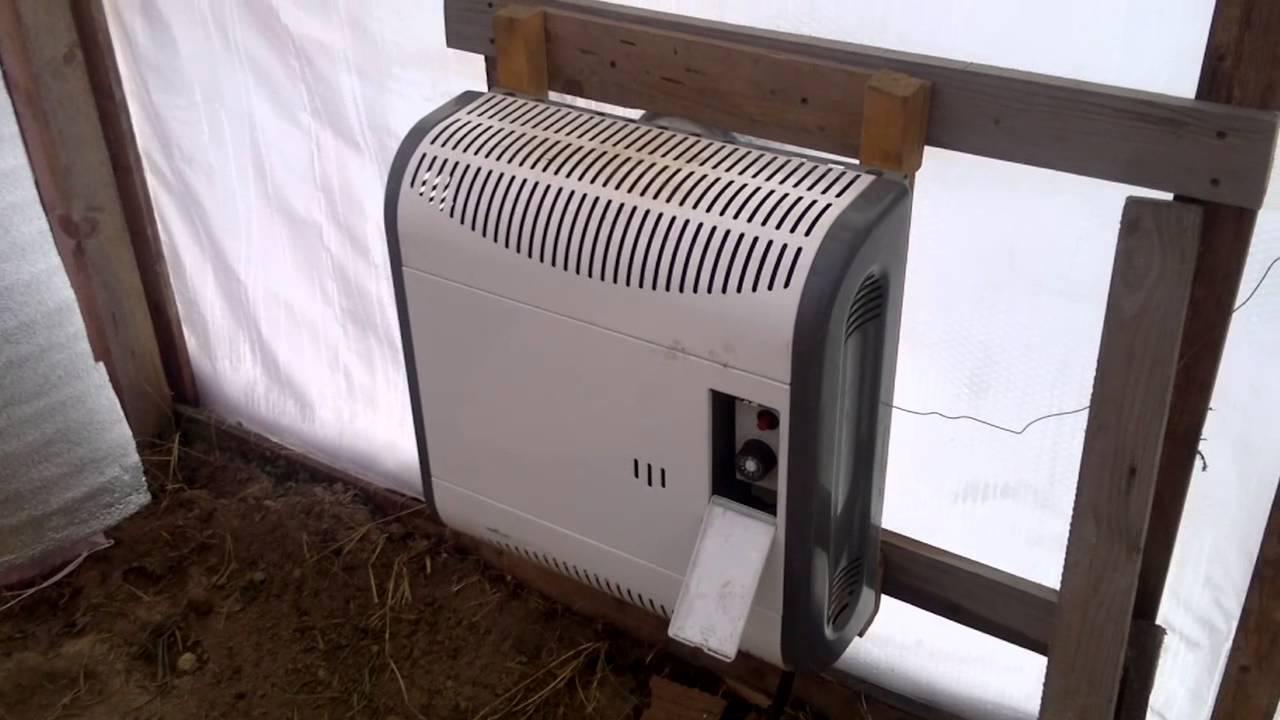 Зимняя теплица с обогревом: отличная инструкция по сборке