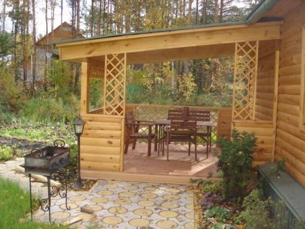 Веранда к дому своими руками: стильные террасы, летняя пристройка к даче, дизайн открытой и закрытой из стеклопакетов, проекты