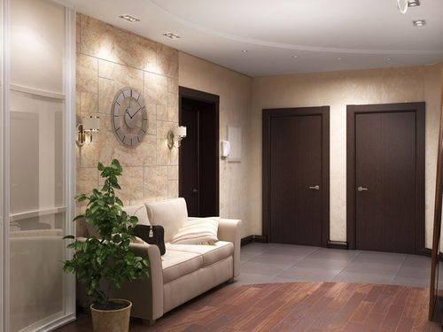 Двери цвета «беленый дуб» в интерьере