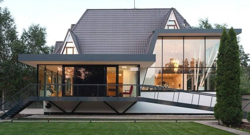 Дизайн двора частного дома (60 фото): создаем красивый экстерьер