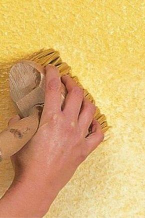Декоративная штукатурка под бетон для отделки стен подробная техника нанесения своими руками