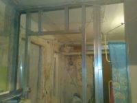 Монтаж двери в гипсокартонную перегородку-пошаговая инструкция