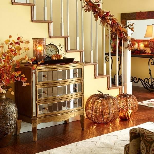 Осенний декор комнаты: фото-идей для тепла иуюта