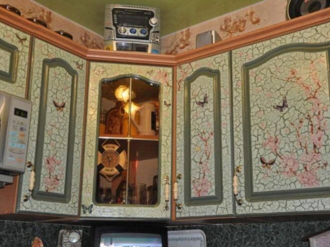 Как перекрасить кухонный гарнитур своими руками, покраска мебели в другой цвет