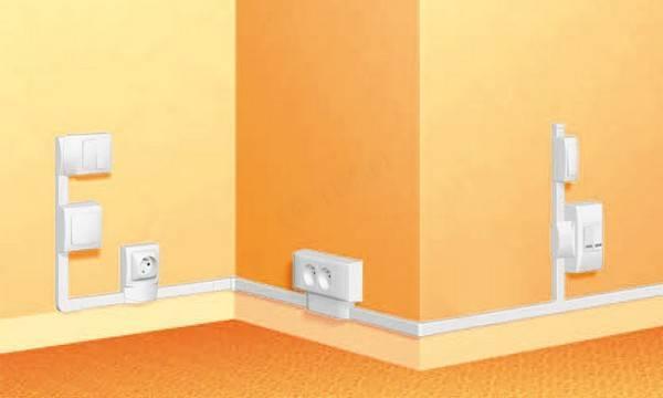 Правила установки потолочного плинтуса с кабель-каналом