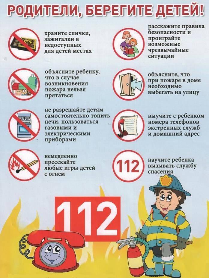Действия при пожаре – инструкция и правила поведения