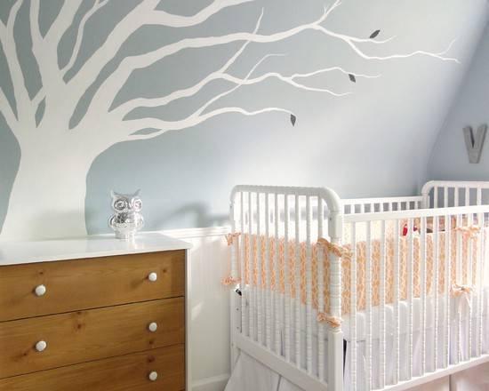 Декоративное дерево на стене своими руками (фото)