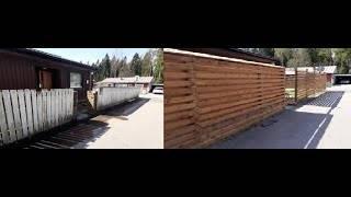 Как сделать забор: 115 фото современных идей и описание постройки своими руками
