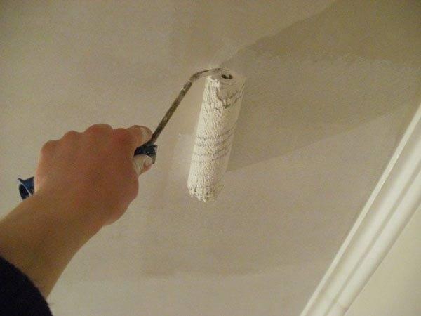 Как покрасить потолок без разводов – рекомендации по покраске разными видами красок