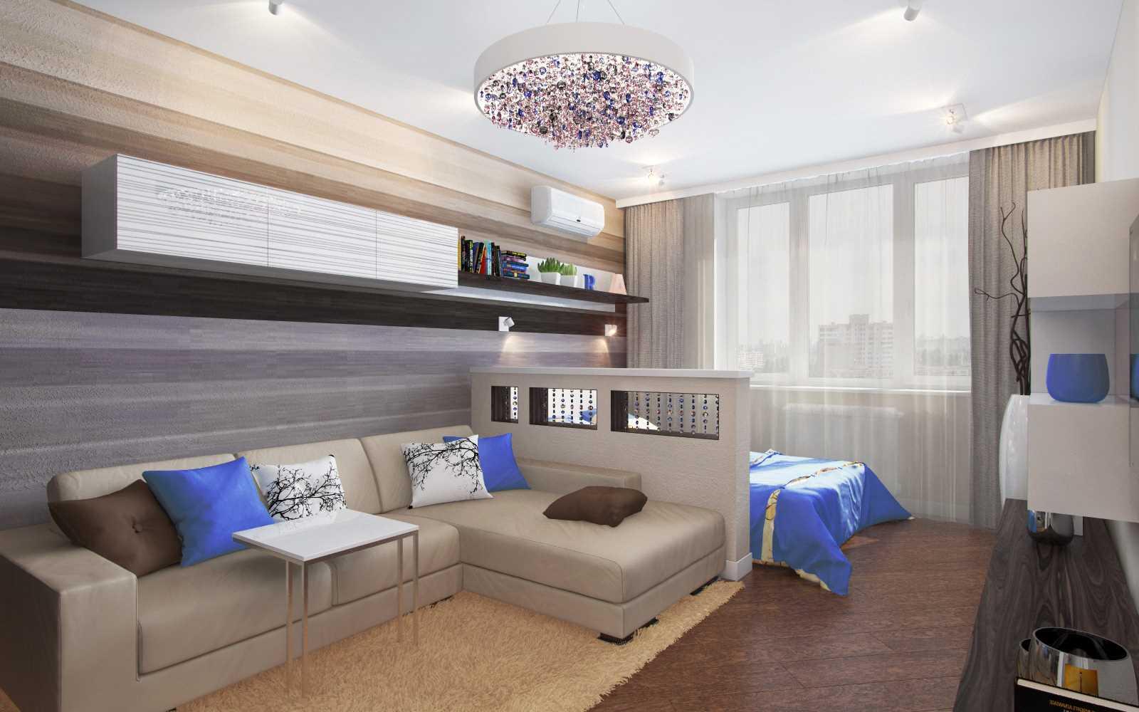 Дизайн гостиной 20 кв. м. фото готовых интерьеров. совмещение с кухней, спальней