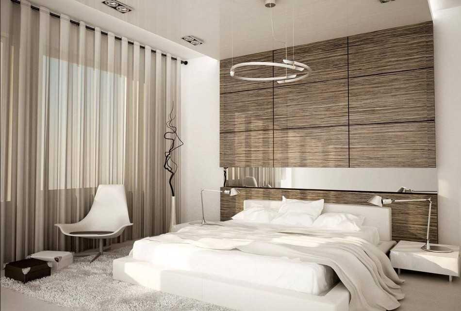 Варианты дизайна спальни 10 кв. м