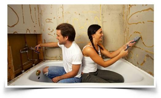 """Ванна и туалет под ключ с компанией """"мини ванна"""""""