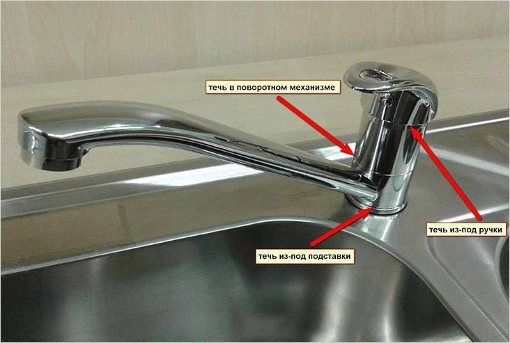 Как починить капающий кран в ванной: особенности различных конструкций