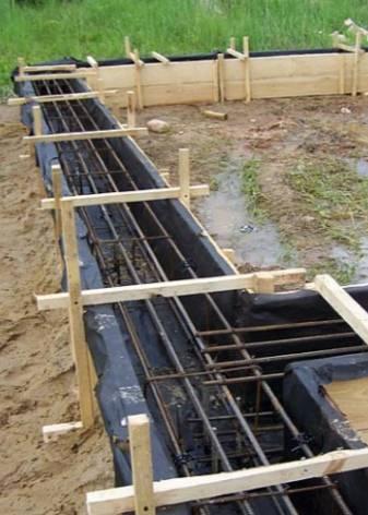 Строительство фундамента по системе тисэ