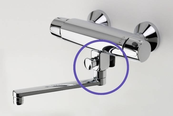 Дивертор для смесителя: что это такое, шаровый и вытяжной, керамический и поворотный для ванны, излив с дивертором, модель vidima