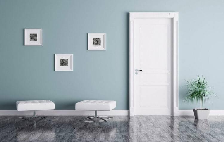 Белые двери в интерьере квартиры - только лучшие идеи!