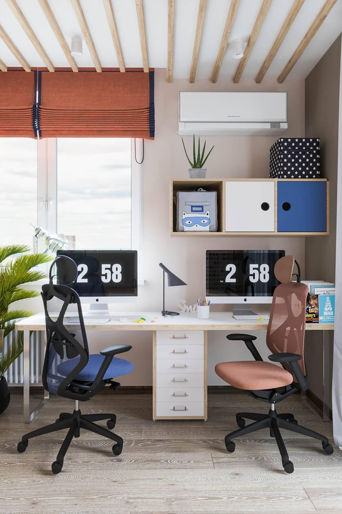 Как обустроить рабочее место? 58 фото дизайн интерьера, как организовать рабочее пространство в доме и квартире, как правильно оформить и украсить