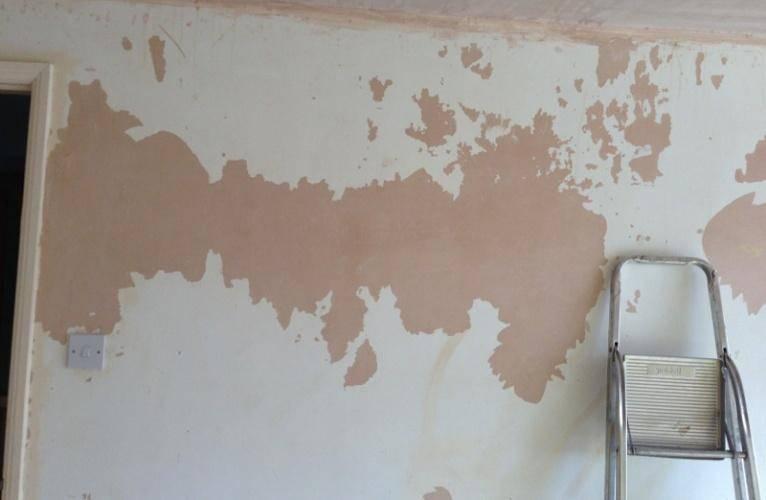 Штукатурка покрашенных стен на масляную краску