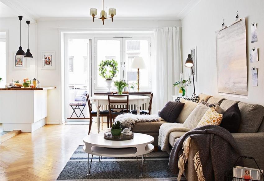 Скандинавский стиль в интерьере - 105 фото безупречно оформленного интерьера