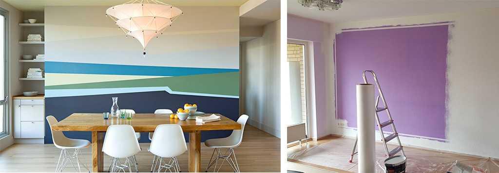 """Обои или покраска стен: что лучше? взвешиваем """"за"""" и """"против"""""""