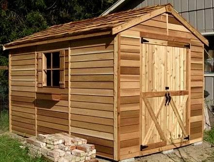 Строим сарай для дачи (62 фото): как пошагово построить своими руками дачную постройку из подручных материалов