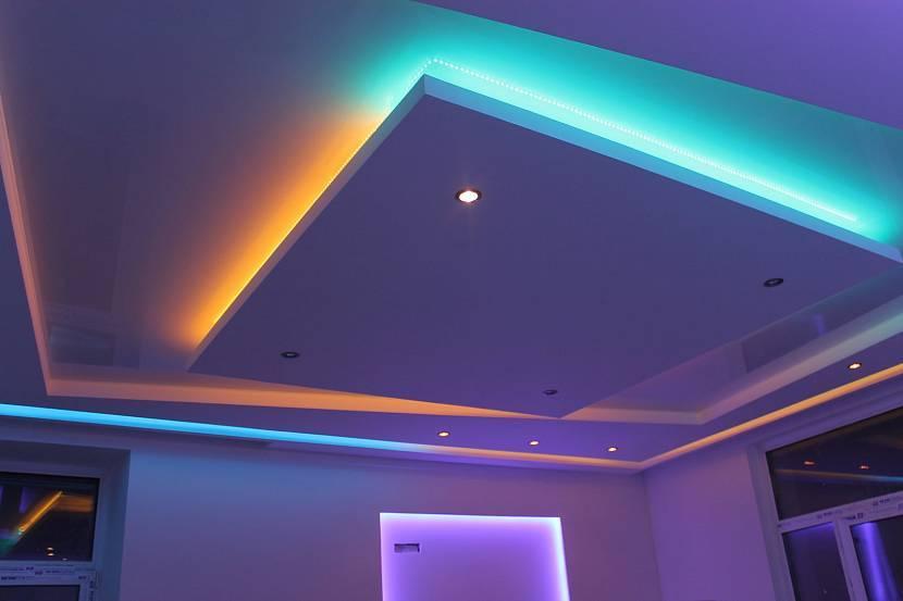 Дизайн потолков 2021 - стильные идеи оформления (50 фото)