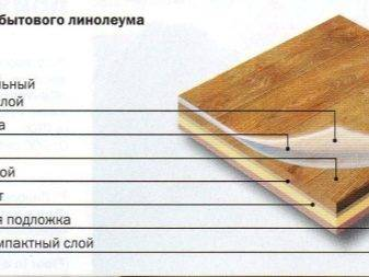 Характеристики линолеума – класс, структура, толщина, ширина
