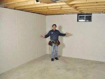 Внутренняя отделка домов из бруса гипсокартонными листами