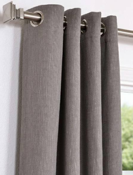 Как установить люверсы на шторы?