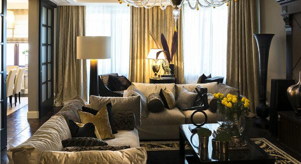 Спальня ар-деко — особенности стиля + 55 фото идей