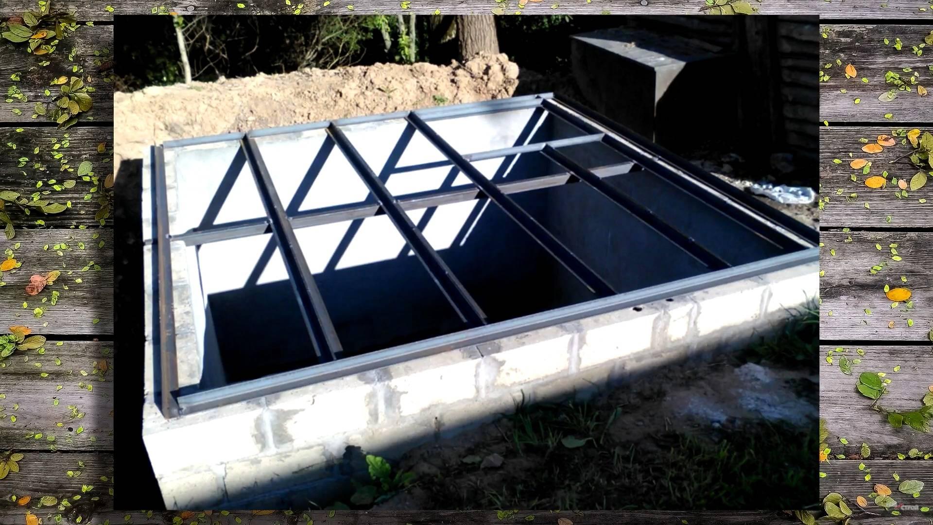 Что нужно для постройки погреба своими руками