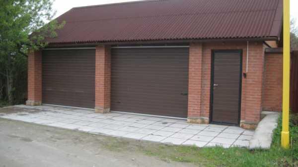 Рулонные ворота для гаража своими руками - всё о воротах и заборе