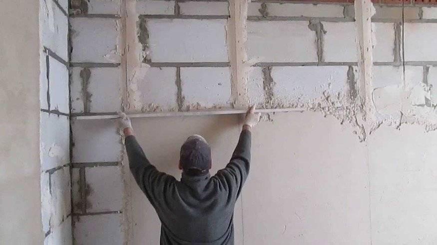 Инструкция по установке маяков на стены перед штукатуркой. | блог сайта lomrem.ru