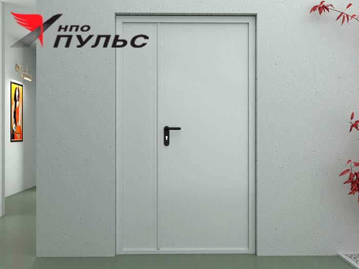 Противопожарные однопольные двери (металлические) - 3 главных функции.