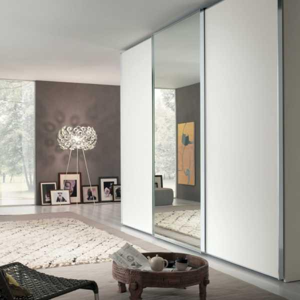 Обзор встроенных шкафов для гостиной, существующие варианты
