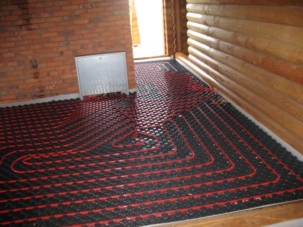 Как сделать качественный теплый пол в частном доме?