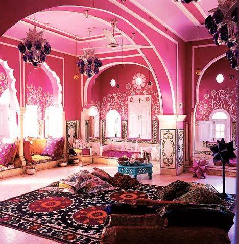 Спальня в восточном стиле: сказочный, яркий и необычный интерьер