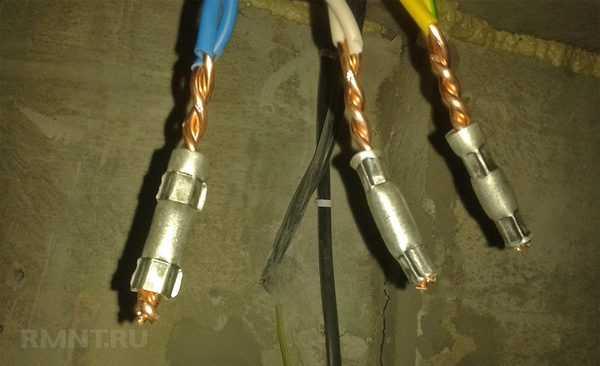 Как соединить медный и алюминиевый провод различными способами