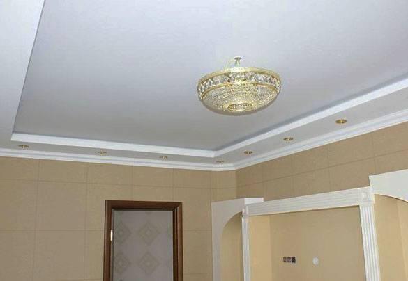 Натяжные потолки: виды, состав материала, производство полотен