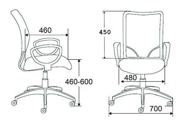 Высота барного стула
