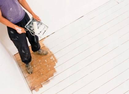 Как отмыть полы после ремонта?