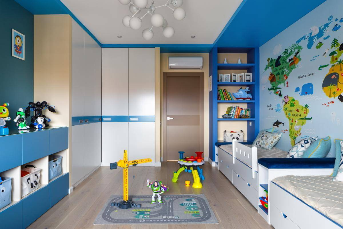 Какая должна быть детская комната: 310+ (фото) ярких интерьеров