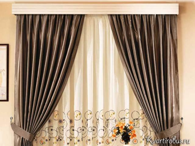 Монтаж багетных карнизов - выбор держателей для штор - блог о строительстве