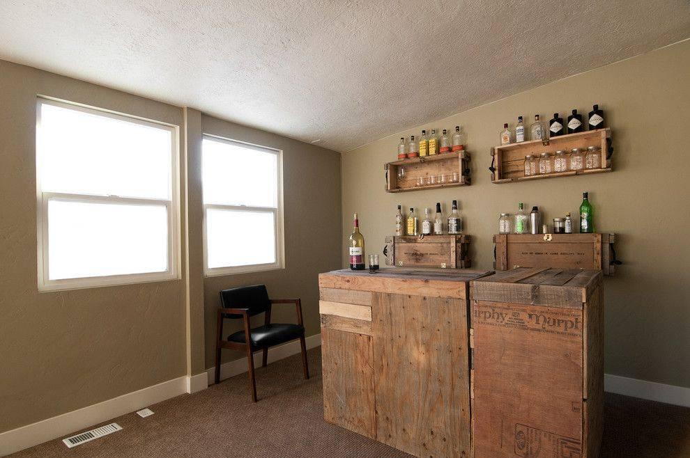 Домашний бар в интерьере: компактный отдых (50 фото)