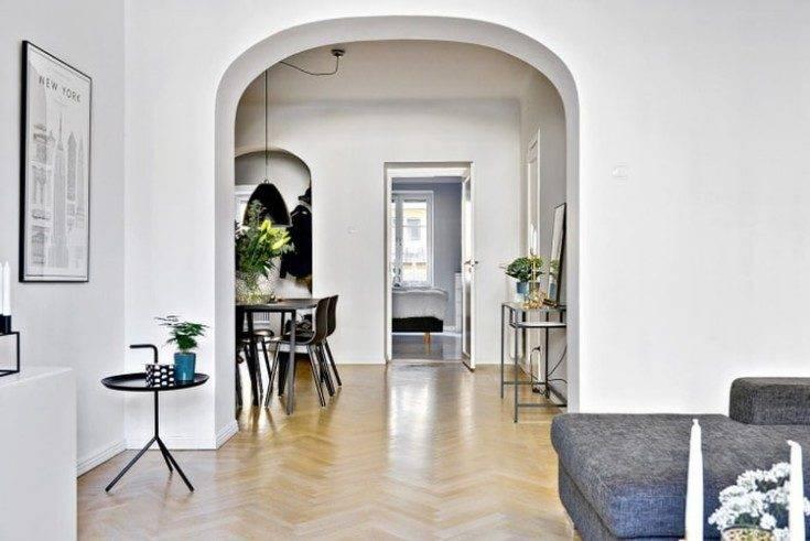 Дизайн арки в квартире (109 фото): как выполнить декоративное оформление в прихожей, дизайнерские идеи 2021 в интерьере